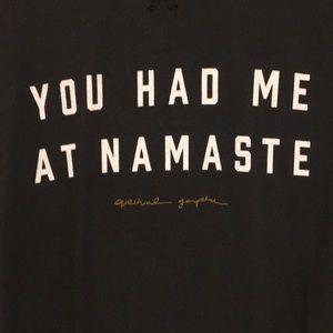 Spiritual Gangster Namaste sweatshirt